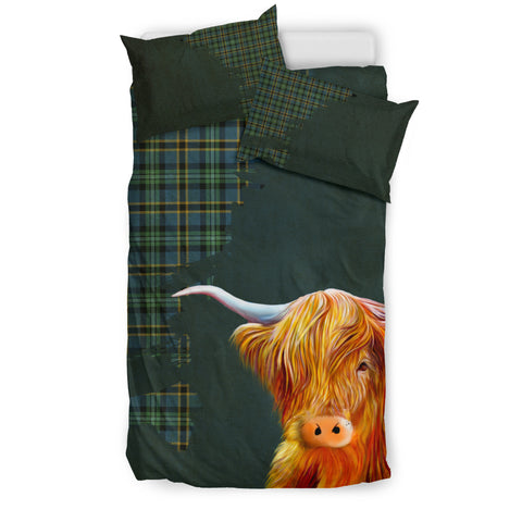 Weir Ancient Tartan Scottish Highland Cow 01 Bedding Set HJ4 | 1sttheworld.com