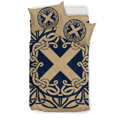 scottish, lion, scotland flag, bedding set, luxury, thistle flower, rampant lion
