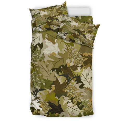 Camo Bedding Set - Leaf Pattern - BN07