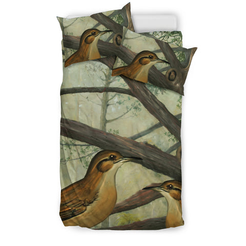 Image of Rufous hornero of Argentina bedding set K2