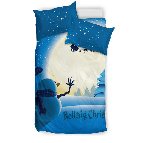 Image of Scotland Bedding Set - Scottish Snowman | Special Custom Design