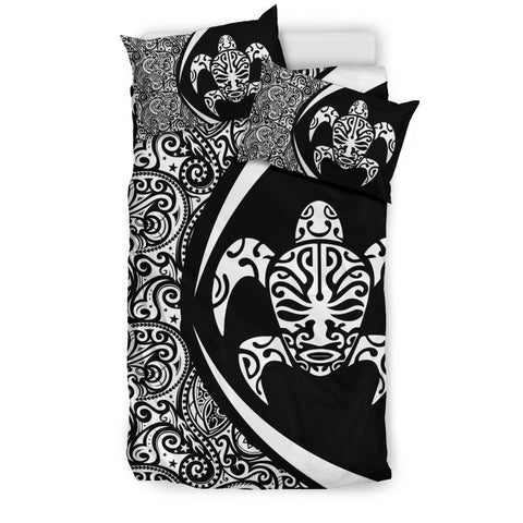 New Zealand Turtle Maori Bedding Set - Circle Style J9