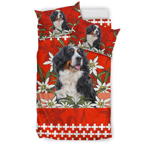 Switzerland Bedding Set Bernese Mountain Dog Red 3