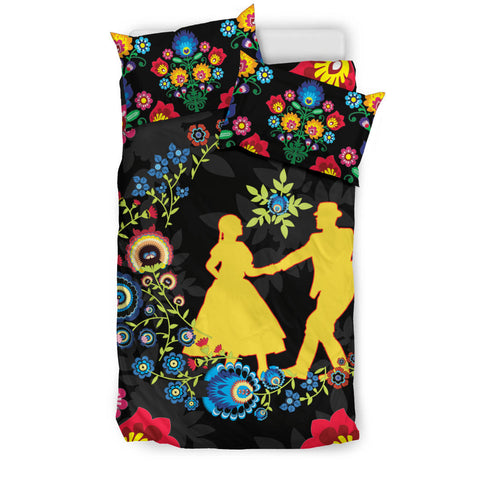 Image of Poland Bedding Set Dancing With The Moon 3