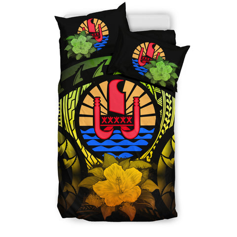 Tahiti Reggae Hibiscus Bedding Set | Home Decor | Love The World
