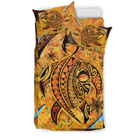 Polynesia Bedding Set Sunset Turtle TH5