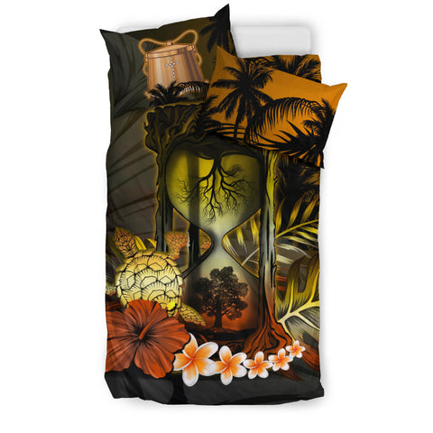Tokelau Bedding Set - Tree Of Life Hourglass A18