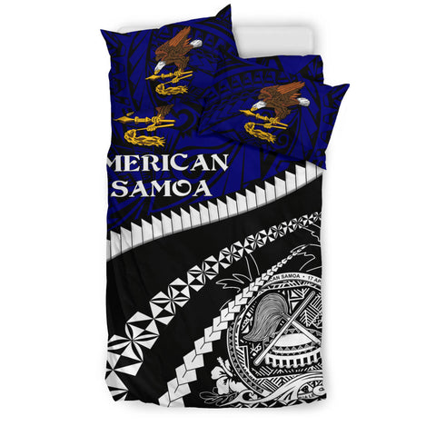 American Samoa Bedding Set - Road to Hometown K4