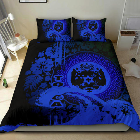 Polynesia Bedding Set Tonga Blue K62