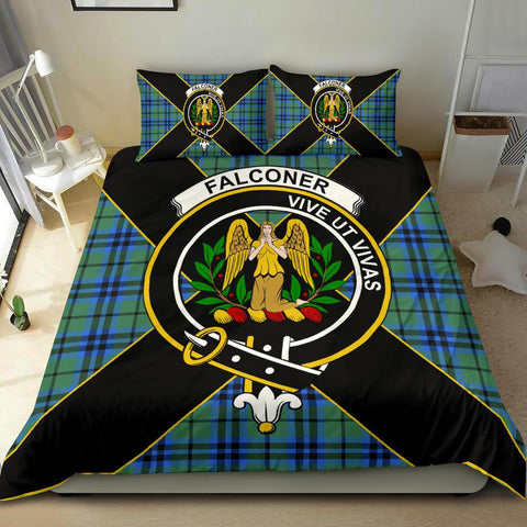 Falconer Tartan Duvet Cover Set - Luxury Style - BN
