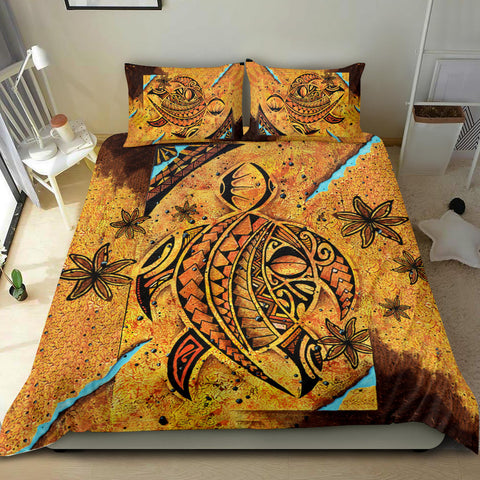 Image of Polynesia Bedding Set Sunset Turtle TH5