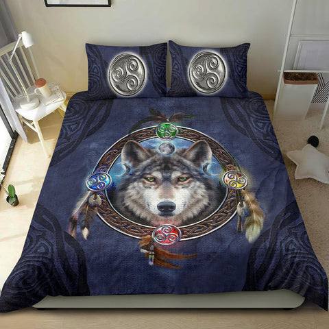 Celtic Wolf - Celtic Bedding Set