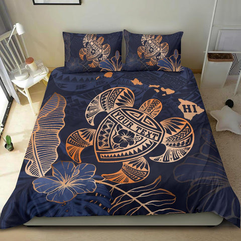 Personalized - Hawaii Bedding Set