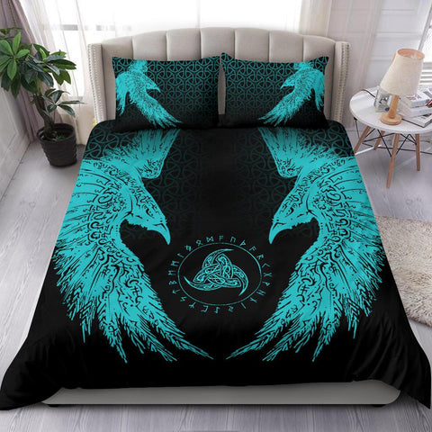 Image of Vikings Bedding Set Muninn A7