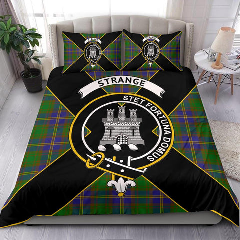 Image of Strange (or Strang) Tartan Duvet Cover Set - Luxury Style - BN