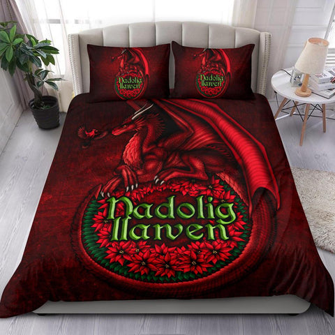 Wales Bedding Set - Christmas Dragon