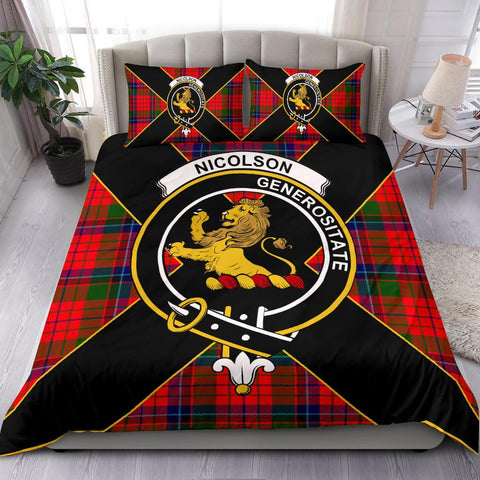 Nicolson Tartan Duvet Cover Set - Luxury Style - BN