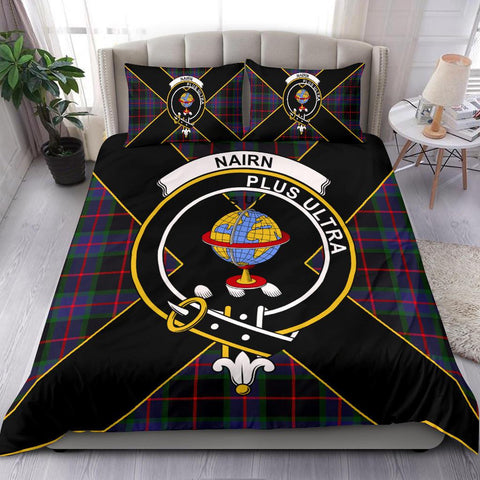 Nairn Tartan Duvet Cover Set - Luxury Style - BN