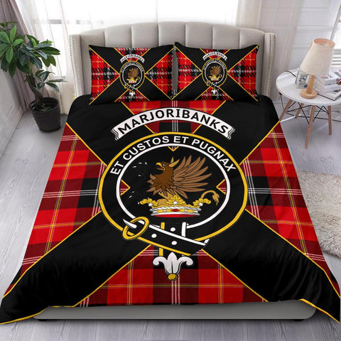 Image of Marjoribanks Tartan Duvet Cover Set - Luxury Style - BN