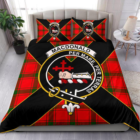 Image of MacDonald (of Sleat) Tartan Duvet Cover Set - Luxury Style - BN