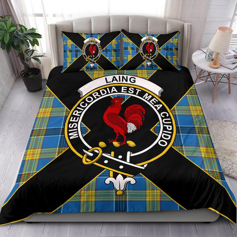 Laing Tartan Duvet Cover Set - Luxury Style - BN
