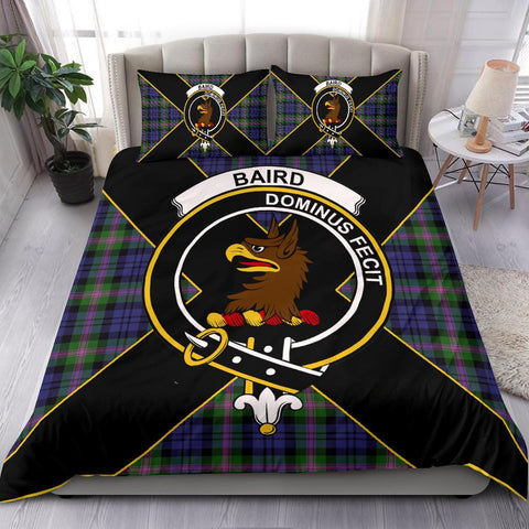 Baird Tartan Duvet Cover Set - Luxury Style - BN