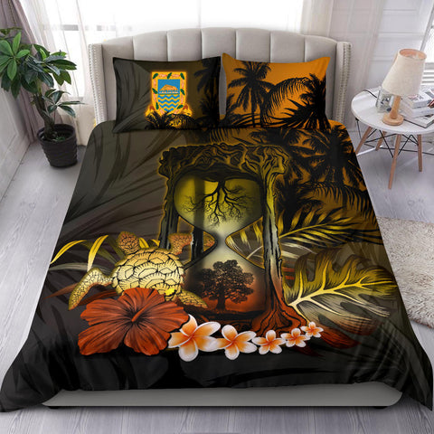 Tuvalu Bedding Set - Tree Of Life Hourglass A18