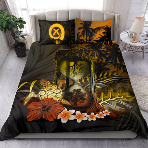 Vanuatu Bedding Set - Tree Of Life Hourglass A18