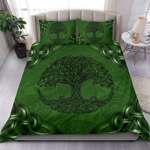 Celtic Bedding Set - Celtic Tree Duvet Cover