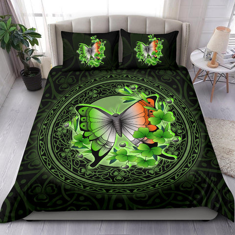 Ireland Bedding Set - Irish Butterfly and Shamrock A18