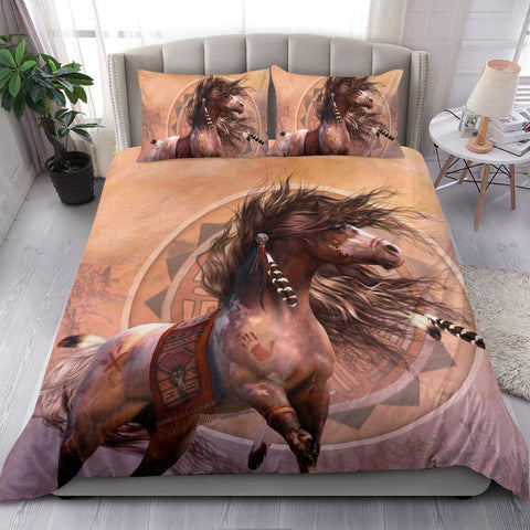 Native American Indian Horse Bedding Set | 1sttheworld