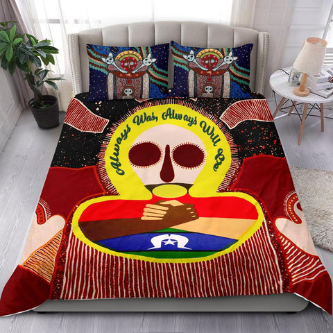 Image of 1stAustralia Aboriginal and Torres Strait Islander Bedding Set - Naidoc Style - BN21