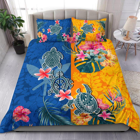 Hawaii Bedding Set Polynesian Turtle Special | 1sttheworld