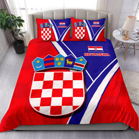 Image of Croatia Bedding Set - Crotian Pride