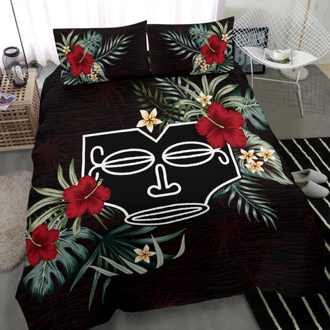 Marquesas Islands Bedding Set Hibiscus A02