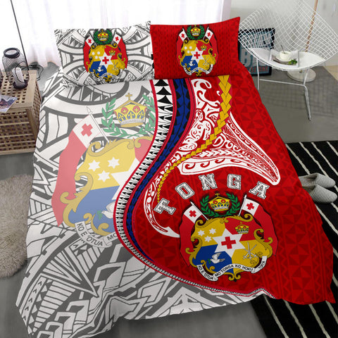 Image of Tonga Bedding Set Kanaloa Tatau Gen TO TH65