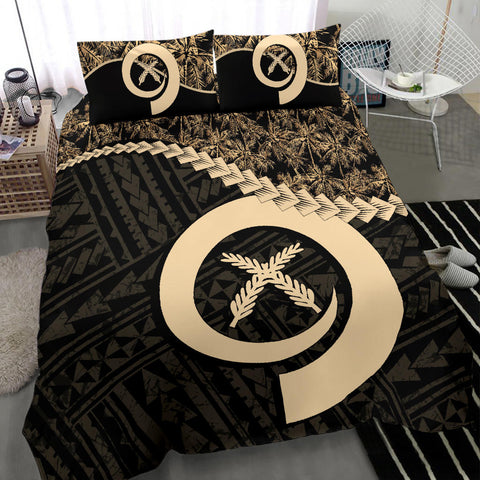 Vanuatu Bedding Set Golden Coconut A02