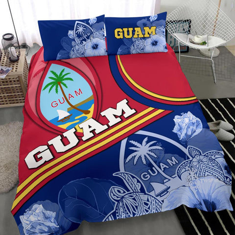 Polynesian Bedding Set - Guam Duvet Cover - Land of the Chamorros -