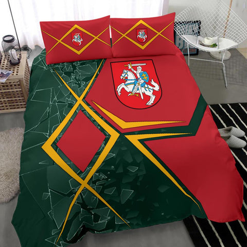 Image of Lithuania Bedding Set - Lithuania Legend
