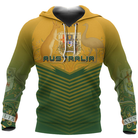 Australia Coat Of Arms Hoodie - Energy Style