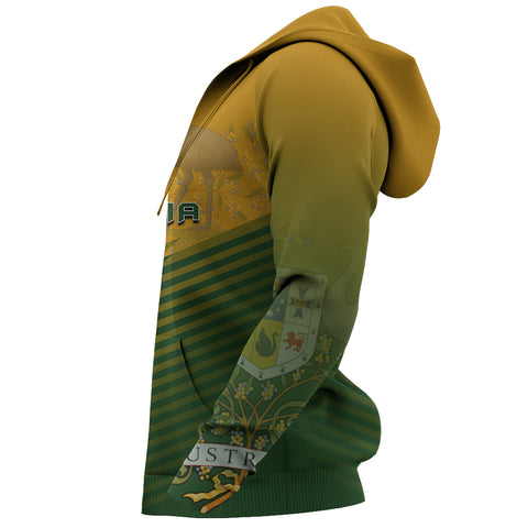 Australia Coat Of Arms Hoodie - Energy Style J1