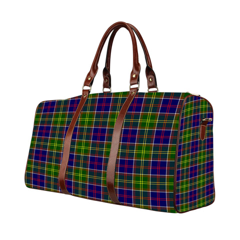 Tartan Travel Bag - Ayrshire District | Scottish Travel bag | 1sttheworld