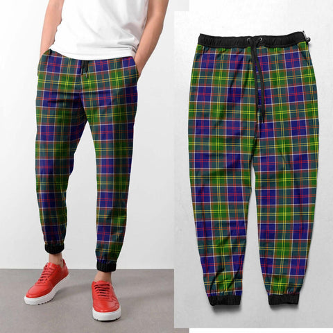Tartan Sweatpant - Ayrshire District  | Great Selection With Over 500 Tartans