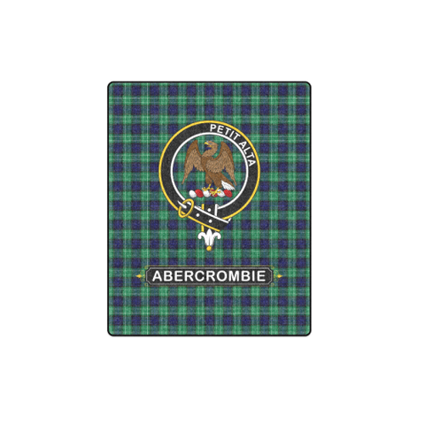 ABERCROMBIE (OR ABERCROMBY) CLAN TARTAN BLANKET A1