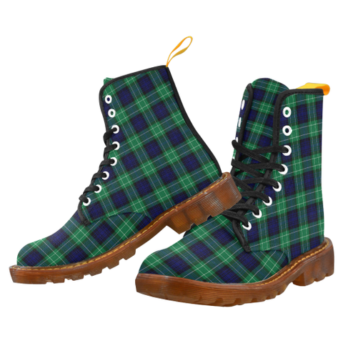 Image of Abercrombie Tartan Martin boots | Scotland Boots | Over 500 Tartans