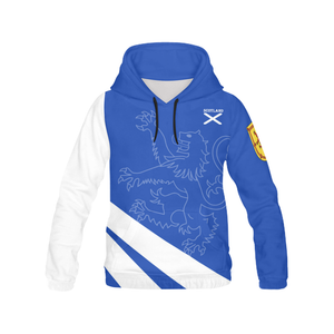 Scotland Hoodie - Scottish Flag And Royal Arms | HOT Sale