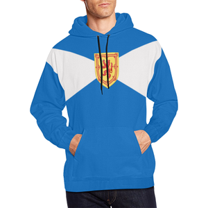 Scotland Hoodie - Scottish Flag And Coat Of Arms A2