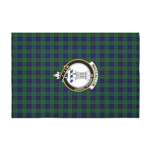 MacCallum Crest Tartan Tablecloth | Home Decor