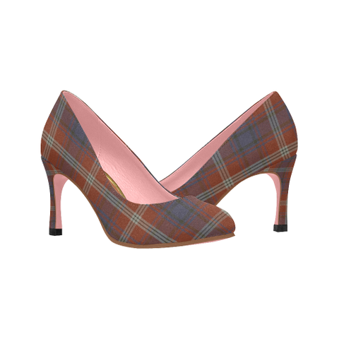 Ainslie Tartan Heels - Women's Tartan High Heels Th8 |Footwear| 1sttheworld
