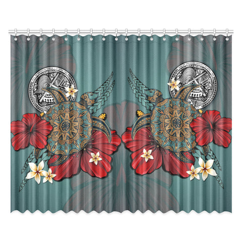 Image of American Samoa Home Set - Window Curtain | Special Custom Design